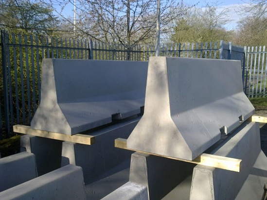 Jersey concrete safety barriers elite precast