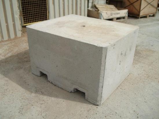 Precast concrete security blocks elite