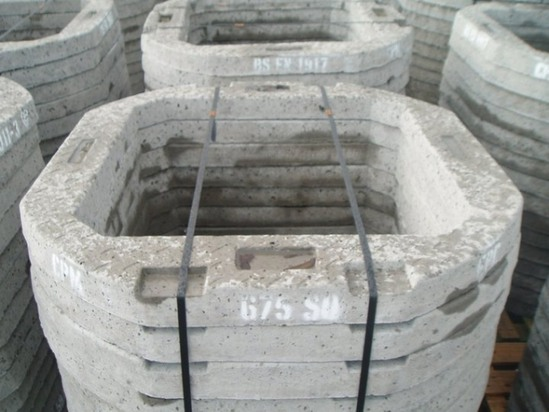 Precast Concrete Manhole Seating Rings Elite Precast