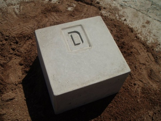 Precast Concrete Cable Marker Blocks Elite Precast