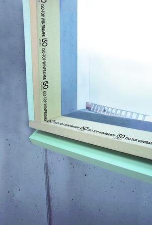 ISO-TOP WINFRAMER system bracket
