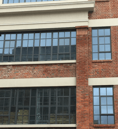 Whitechapel Hotel - heritage style metal windows