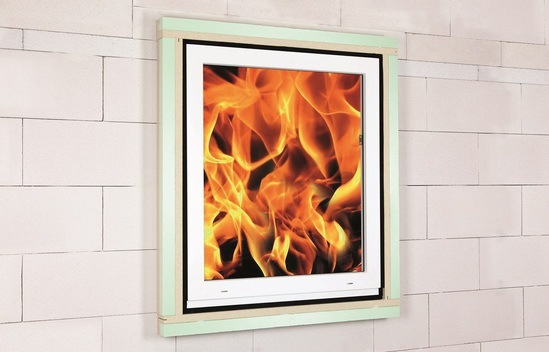 ISO-TOP WINFRAMER has a 30-minute fire rating