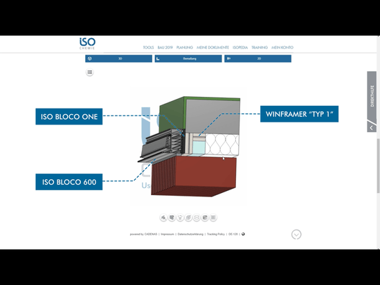 Example of a BIM file from ISO-CHEMIE