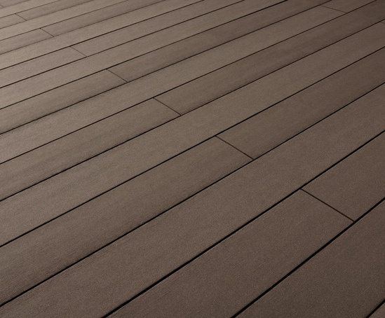 Terrafina excel wood polymer composite decking kinley for Non slip composite decking