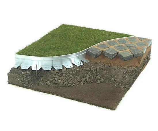 Exceledge Aluexcel aluminium landscape edging