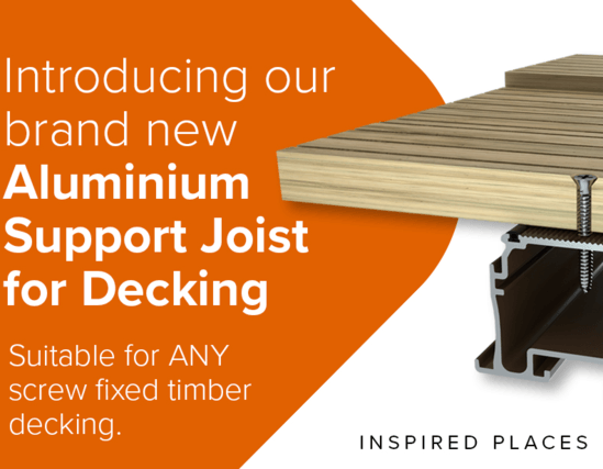 New aluminium support joist