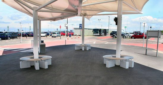 Space efficient seating bristol airport car park for Product design consultancy bristol
