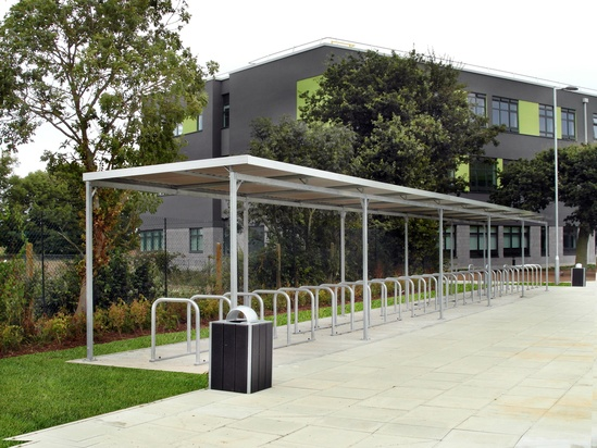 Malford Steel Frame Cycle Shelter - MCS208