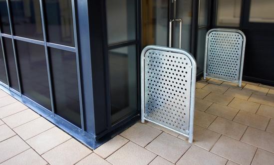 Malford Solid Steel Door Barrier - MDB202