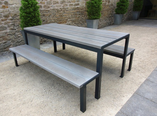 Sheldon Millboard Picnic Table - SPT317