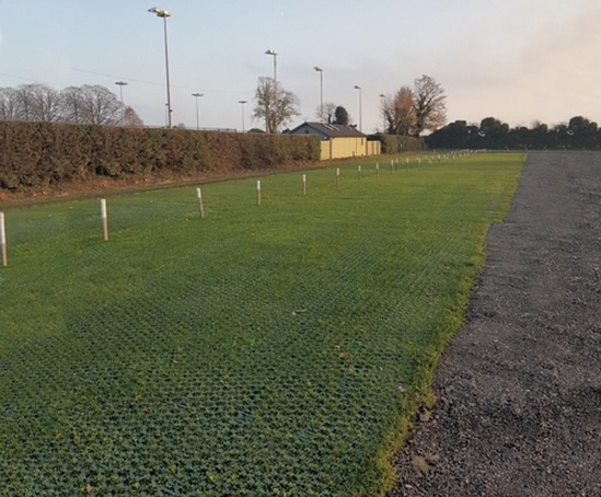 Gridforce Park 40 to reinforce existing grassed area