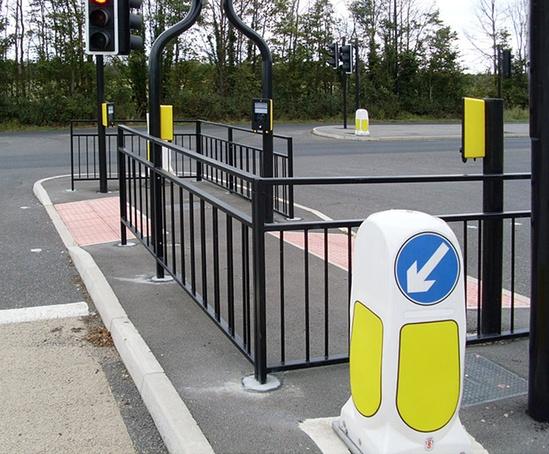 Pedestrian guardrails