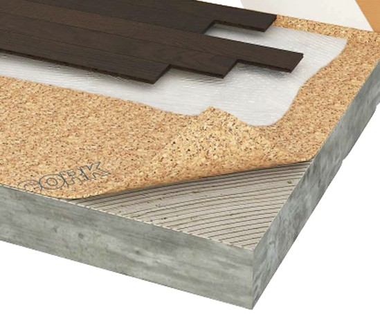 Acousticork T11 Impact Noise Reduction Underlay Tvs