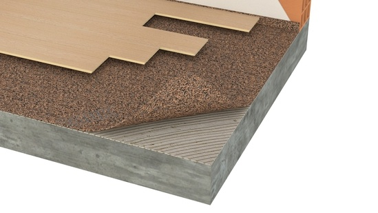 Acousticork T66 recycled underlay