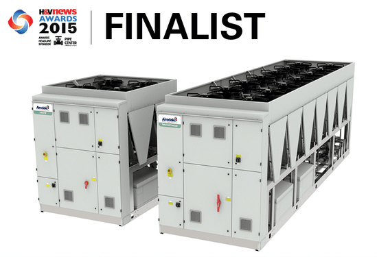 Airedale low GWP chiller shortlisted for more awards