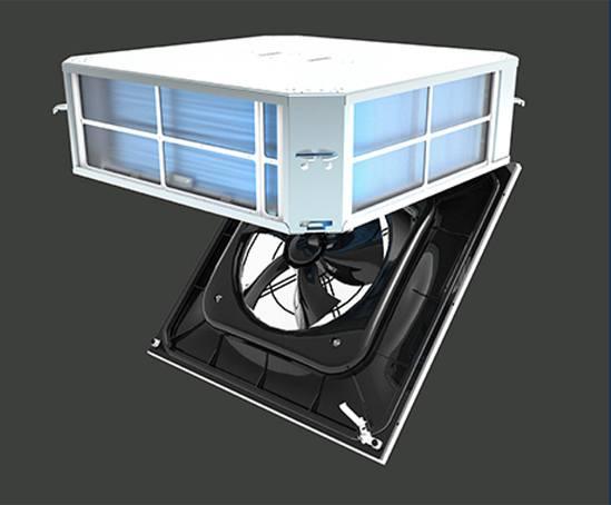Artus hybrid fan coil