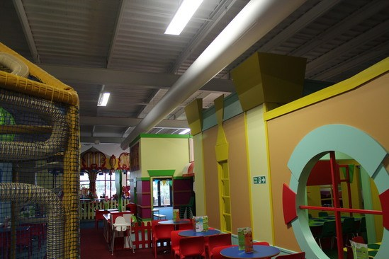 Soft Play Prihoda Fabric Duct - 1
