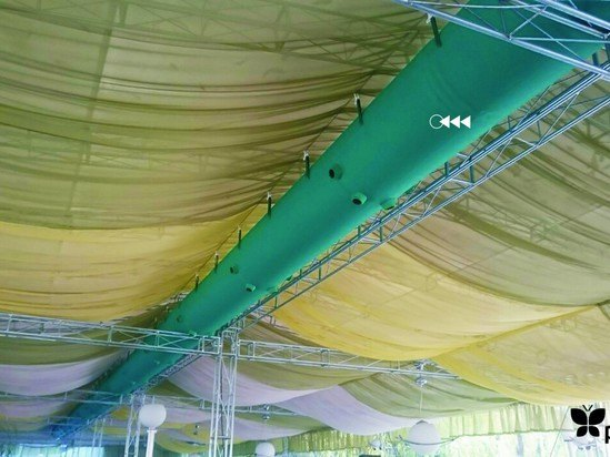 Prihoda fabric ducting for marquees