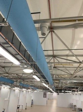 Prihoda air distribution for the ventilation system
