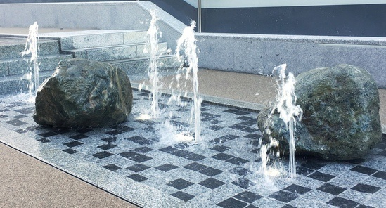 Cascading Rill Water Feature Woolwich Fountains