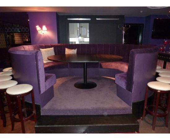 Fixed Booth Seating Proud Cabaret Mark Lane London