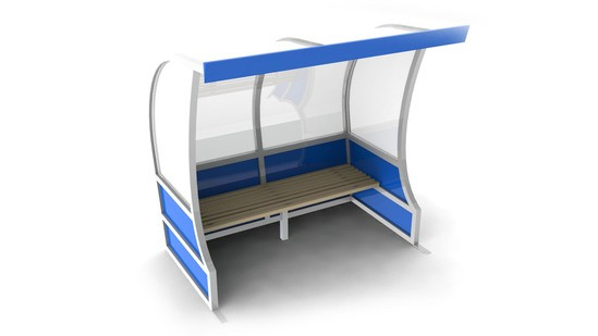 TROOP - dug-out sports shelter with standing height