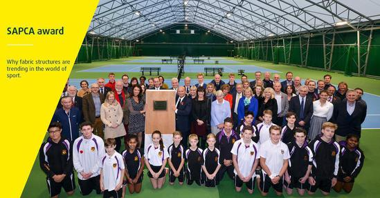 Ellesmere College project wins award for Rocklyn Sports