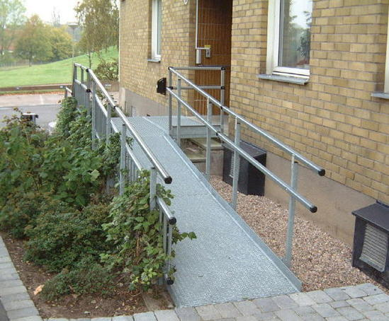 Modular Wheelchair Ramps The Ramp People Esi Building
