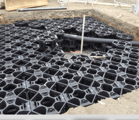 Tree pit installation