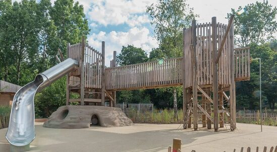 idverde created Holland Park's adventure playground