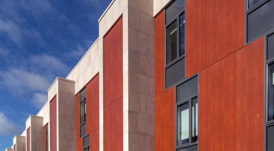 Vivix 174 Solid Phenolic Engineered Exterior Facade Panels