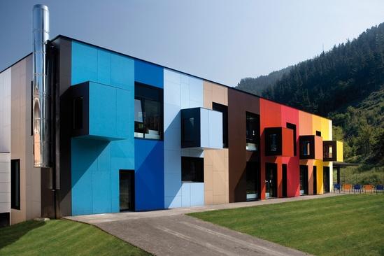VIVIX® phenolic, engineered exterior facade panels