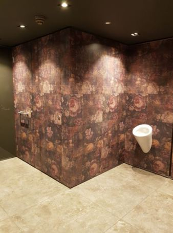 Formica® Younique® laminates used for casino washrooms