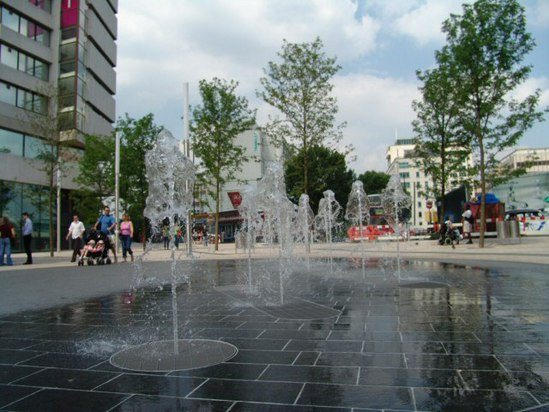 Dry Plaza Water Feature Lyric Square Hammersmith