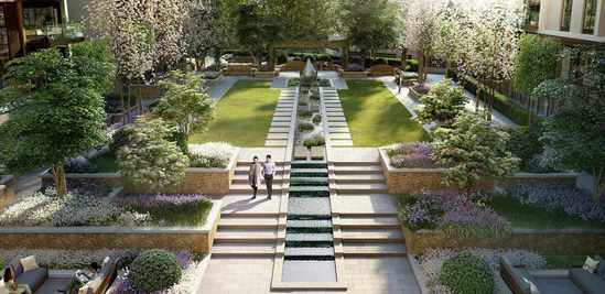 Water feature consultancy includes full animations