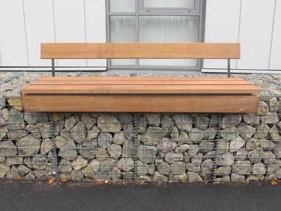 Lapa Gabion Seating Platform Furnitubes International