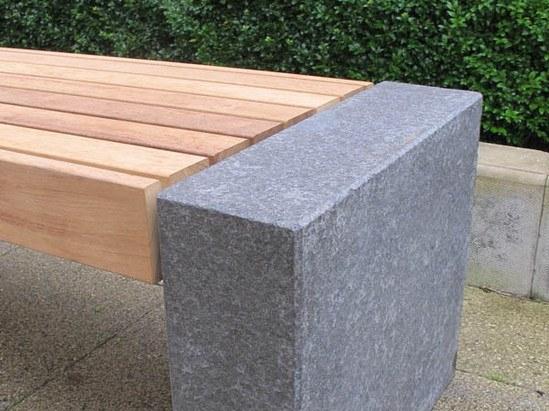 Granite Blocks Product : Elements seat bench granite blocks furnitubes