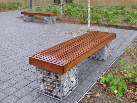 Elements 174 Seat Amp Bench Gabions Furnitubes