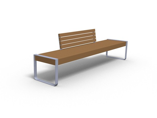 Elements seat bench open frame furnitubes for International seating and decor