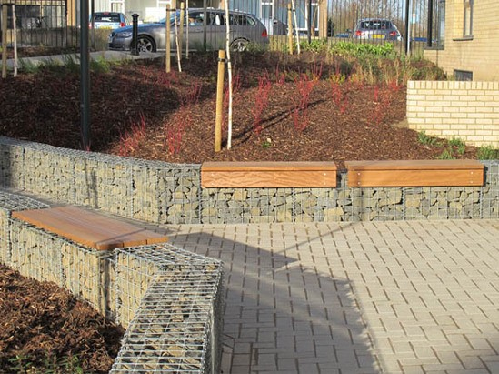 Lapa Gabion Seating Platform Furnitubes International