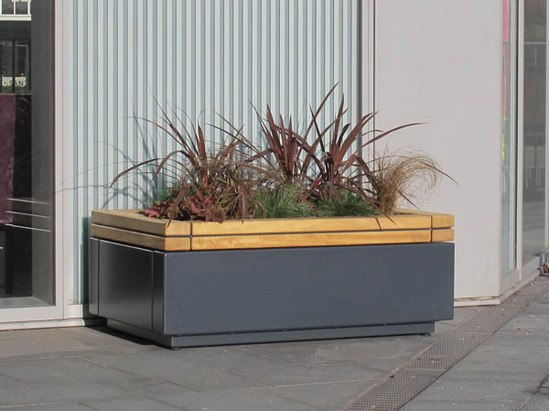 RailRoad small trough planter unit