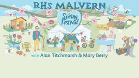 Furnitubes sponsor show garden at RHS Malvern Festival
