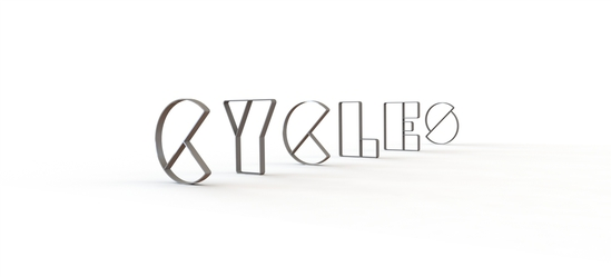 Encourage cycling with new Letterform cycle stands