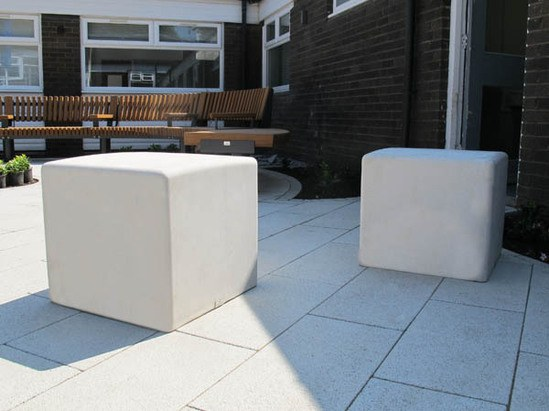 BLS6 Blyth concrete cubes