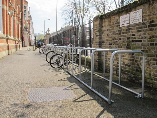 Cycle parking from Furnitubes
