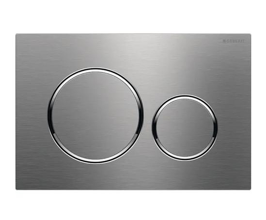 Geberit Sigma20 flush plate, dual flush