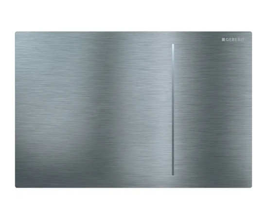 Geberit Sigma70 flush plate in stainless steel