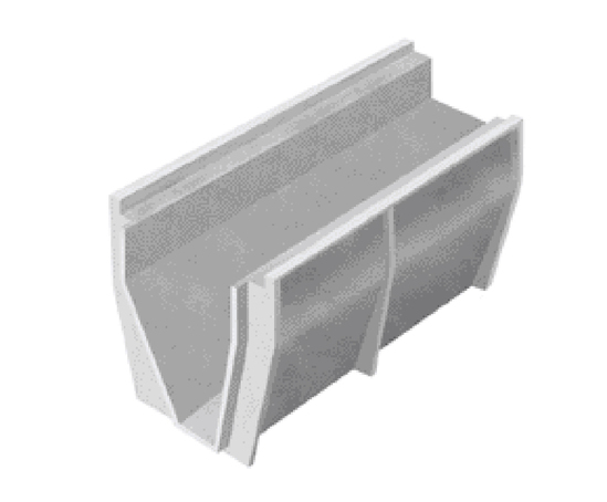 Althon CH 375 high capacity drainage channel
