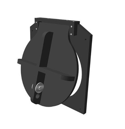 Althon HDPE wall mounted flap valve